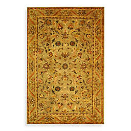 Safavieh Antiquities 2-Foot 3-Inch x 14-Foot Wool Runner in Gold