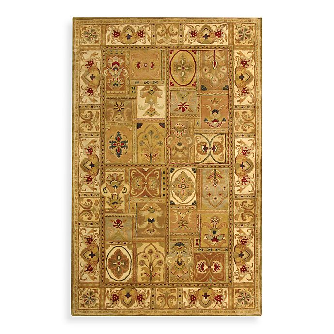 Alternate image 1 for Safavieh Classic Sage and Multicolor Wool 6-Foot x 9-Foot Room Size Rug