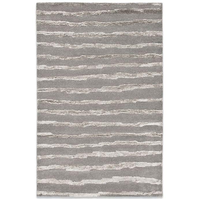 Alternate image 1 for Safavieh Soho Grey Wool 3' 6\