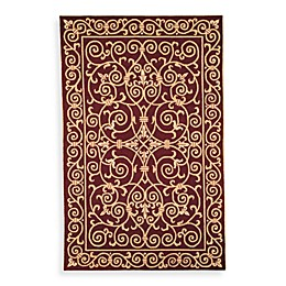 Safavieh Chelsea Wool Accent Rug in Burgundy
