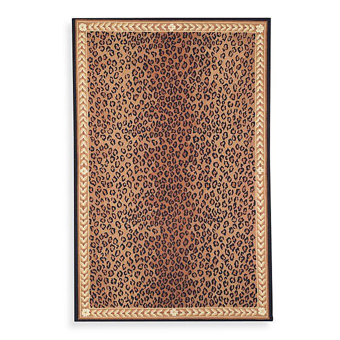 Alternate image 1 for Safavieh Chelsea Wool Rug in Black/Brown