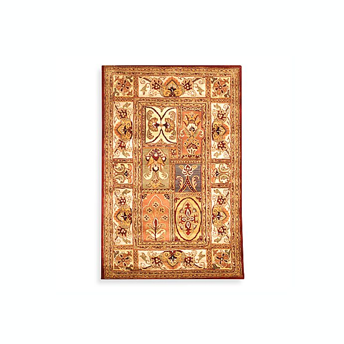 Alternate image 1 for Safavieh Classic Multicolor Patchwork Wool Rug