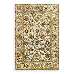 Safavieh Classic Scroll Wool Rug in Ivory