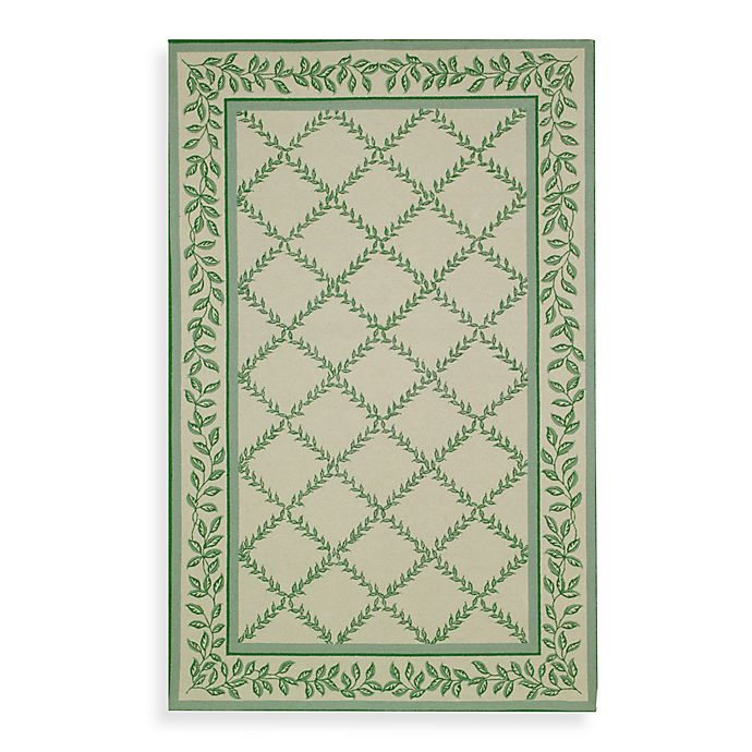 Alternate image 1 for Safavieh Chelsea Wool Accent Rugs in Ivory/Light Green