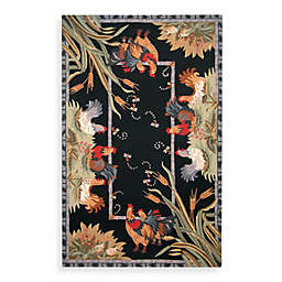 Safavieh Chelsea Black Hens Wool Rugs