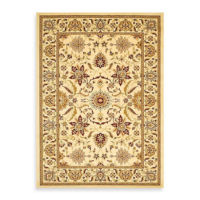 Alternate image 1 for Safavieh Lyndhurst Ivory Floral 2-Foot 3-Inch x 14-Foot Runner