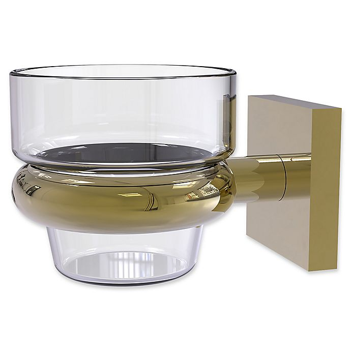 Alternate image 1 for Allied Brass Montero Collection Wall Mounted Votive Candle Holder in Unlacquered Brass