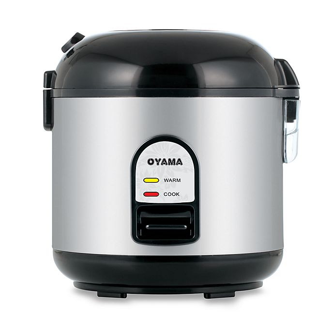 Alternate image 1 for Oyama 5-Cup Stainless Steel Rice Cooker