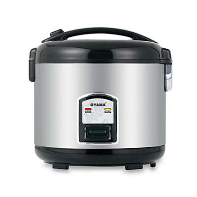 Oyama 7-Cup Stainless Steel Rice Cooker