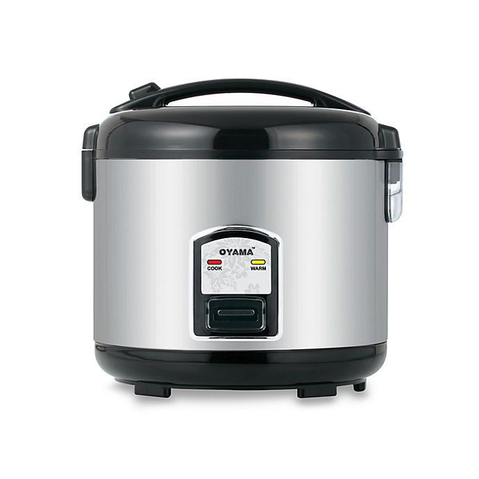 Alternate image 1 for Oyama 10-Cup Stainless Steel Rice Cooker
