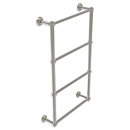 Allied Brass Dottingham Collection 4-Tier Ladder Towel Bar with Groovy Detail