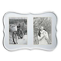 kate spade new york Crown Point™ 5-Inch x 7-Inch Double Photo Frame