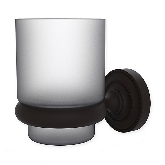 Alternate image 1 for Allied Brass Dottingham Collection Wall Mounted Tumbler Holder in Oil Rubbed Bronze