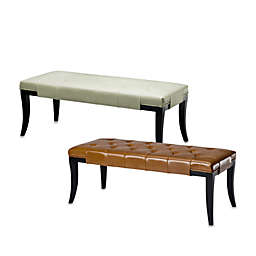 Safavieh Hudson Leather Tyler Bench