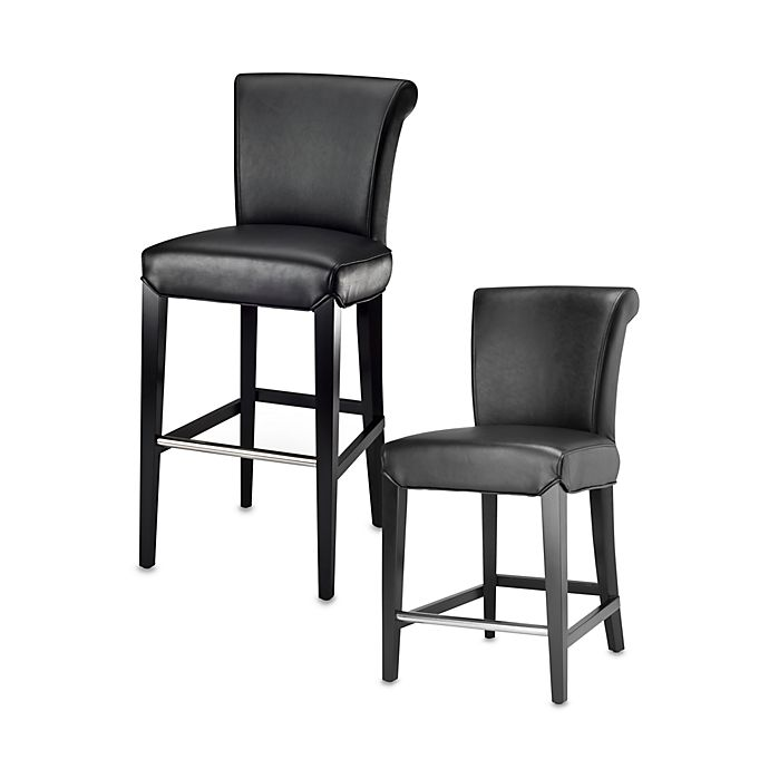 Safavieh Mercer Modern Seth Stool In Black Bed Bath Amp Beyond