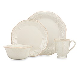 Lenox® French Perle 4-Piece Place Setting in White