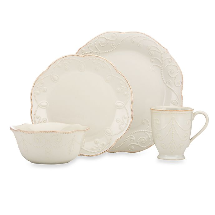 Alternate image 1 for Lenox® French Perle™ Dinnerware Collection in White