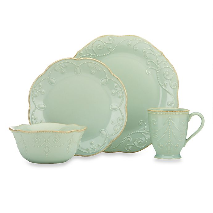 Alternate image 1 for Lenox® French Perle™ Dinnerware Collection in Ice Blue