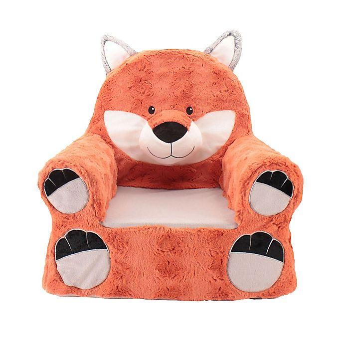 Alternate image 1 for Sweet Seats™ Plush Fox Chair in Orange