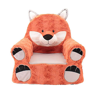 Sweet Seats™ Plush Fox Chair in Orange
