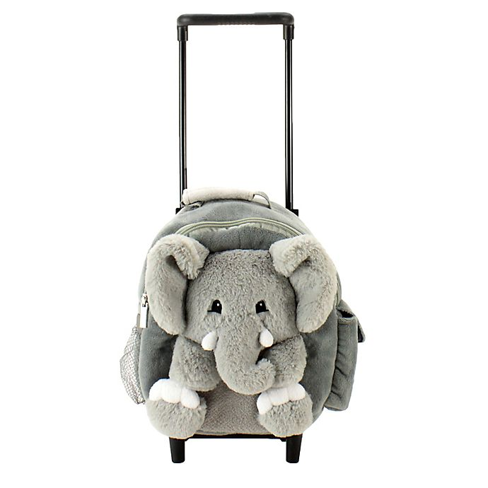 Alternate image 1 for Animal Adventure ® Happy Trolleys™ Elephant Convertible Backpack