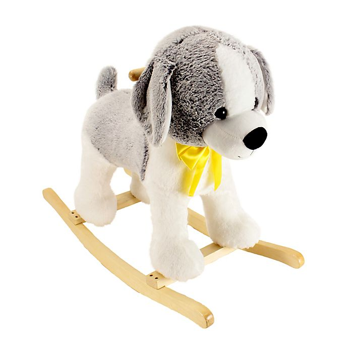 Cool Animal Adventure Dog Rocker Buybuy Baby Theyellowbook Wood Chair Design Ideas Theyellowbookinfo