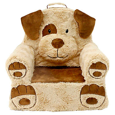 Sweet Seats® Plush Puppy Chair in Buttercup