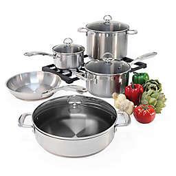 Chantal® Induction 21 Steel™ 9-Piece Cookware Set