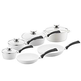Berndes® SignoCAST® 10-Piece Ceramic Cast Aluminum Cookware Set in Pearl