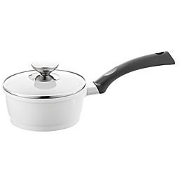 Berndes® SignoCAST® 1.25 qt. Ceramic Cast Aluminum Covered Saucepan in Pearl