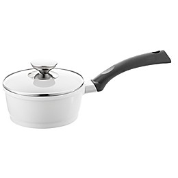Berndes® SignoCAST® 2 qt. Ceramic Cast Aluminum Covered Saucepan in Pearl