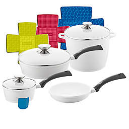 Berndes® SignoCAST® 11-Piece Ceramic Cast Aluminum Cookware Set in Pearl