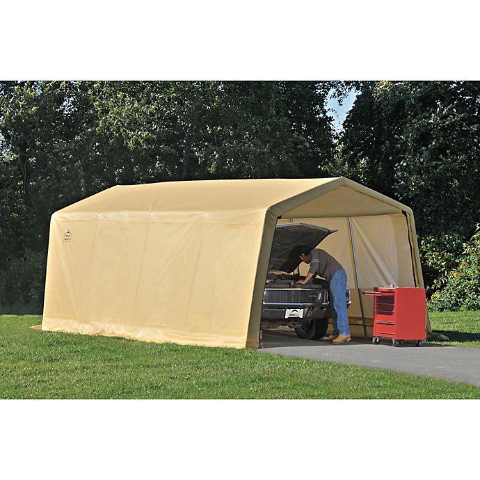 Alternate image 1 for ShelterLogic® AutoShelter® Instant Garage