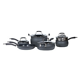 Epicurious Hard Anodized Nonstick 11-Piece Cookware Set