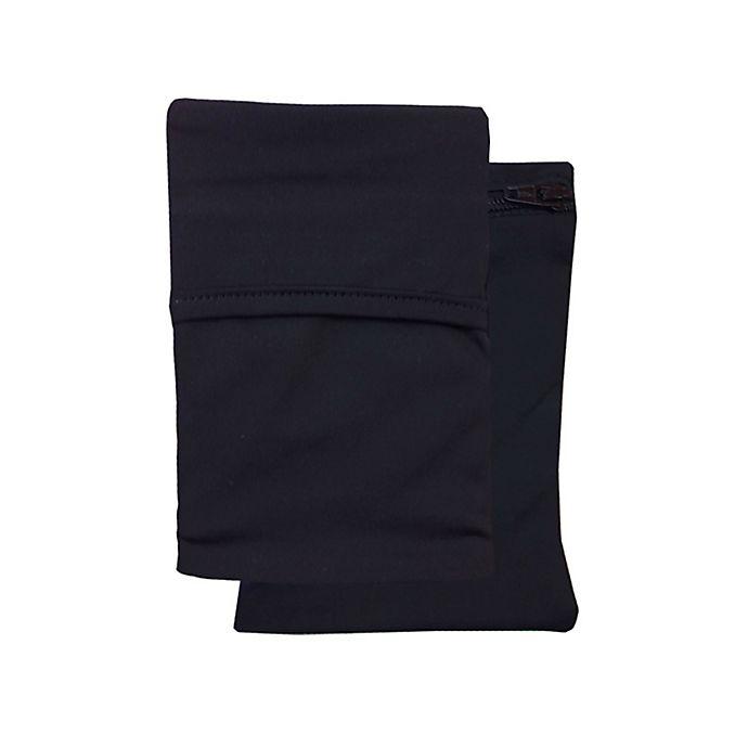 Alternate image 1 for Sprigs® Journey Out 2-Pocket Phone Wrist Wallet in Black