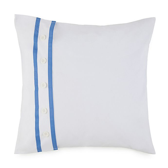 Alternate image 1 for Southern Tide® Summer Daze European Pillow Sham in White/Blue