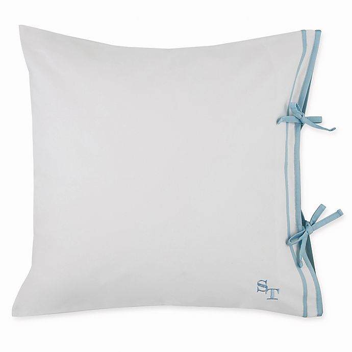 Alternate image 1 for Southern Tide® Sea Breeze European Pillow Sham in White