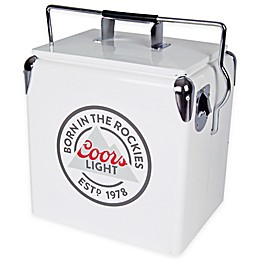 Coors® Light Vintage Style 13-Liter Ice Chest