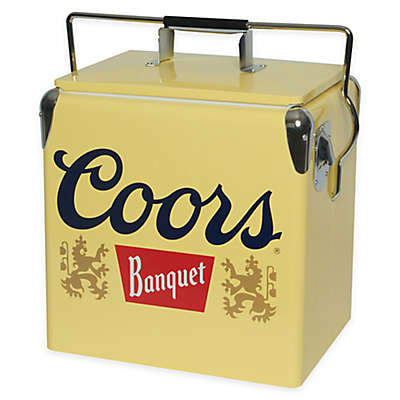 Coors® Banquet Vintage Style 13-Liter Ice Chest