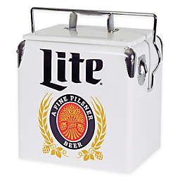 Miller Lite® Vintage Style 13-Liter Ice Chest