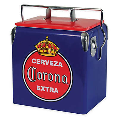 Corona® Blue Vintage Style 13-Liter Ice Chest