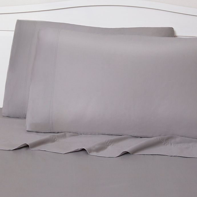 Alternate image 1 for Royale Linens 300-Thread-Count King Sheet Set in Silver