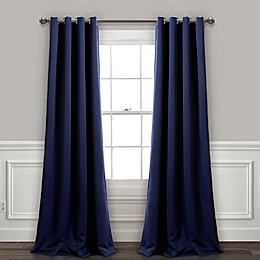 Insulated 2-Pack Grommet Room Darkening Window Curtain Panels