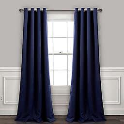 Insulated 2-Pack Grommet Room Darkening Window Curtain Panels
