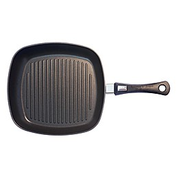 Berndes® Vario® Click Induction Plus Nonstick 12.25-Inch Grill Pan in Black