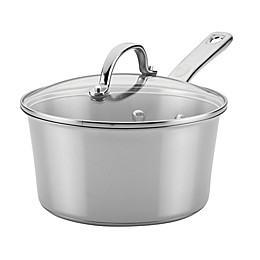 Ayesha Curry™ Stainless Steel 3-Quart Covered Saucepan