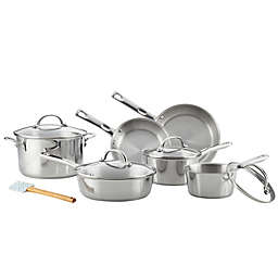 Ayesha Curry™ 11-Piece Stainless Steel Cookware Set