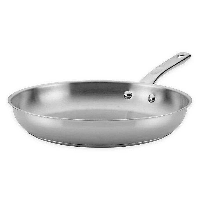 Alternate image 1 for Ayesha Curry™ Stainless Steel Skillet