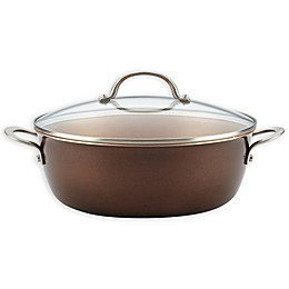Ayesha Curry™ Porcelain Enamel Nonstick 7.5 qt. Covered Stock Pot