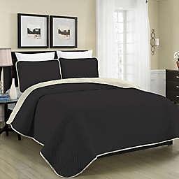 Blissful Living Austin Pinsonic Reversible Quilt Set